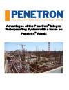 Advantages of the Penetron Integral Waterproofing System EN